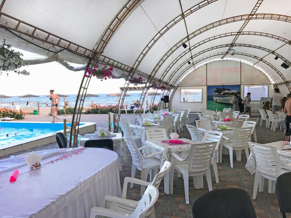Фестиваль здоровья Well-being fest 2018 столовая