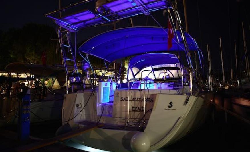 Sail Antares Beneteau Oceanis 54-8