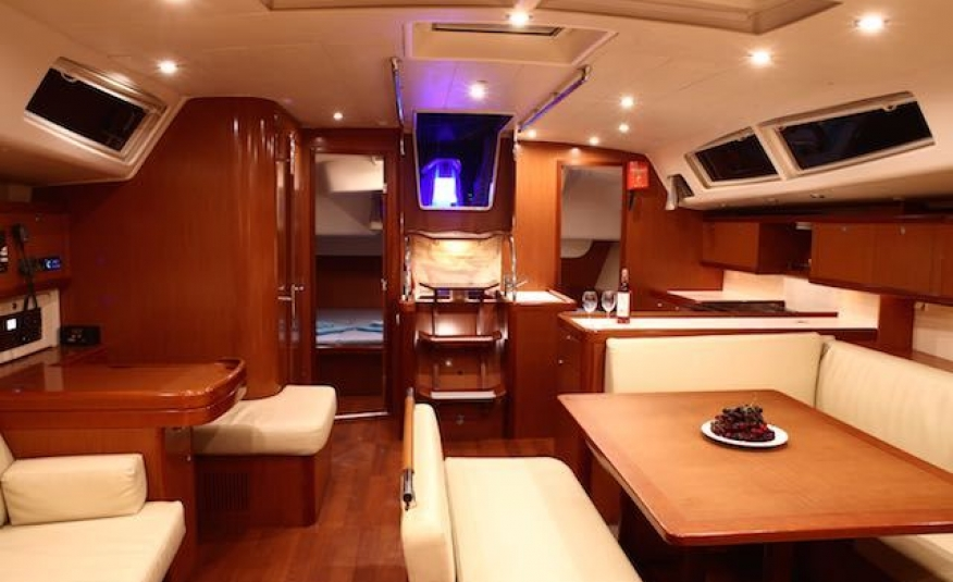 Sail Antares Beneteau Oceanis 54